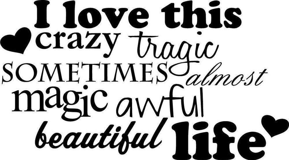Crazy Quotes Life. QuotesGram | MOTIVATION | Crazy life ...
