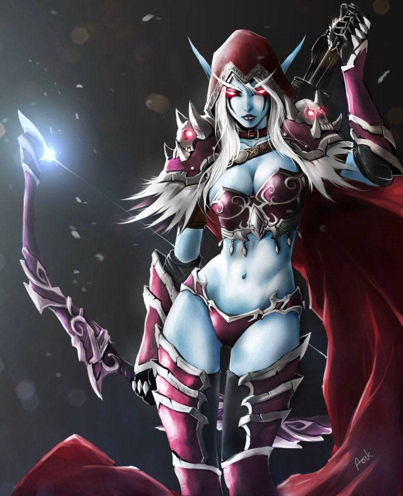 World of warcraft erotic art