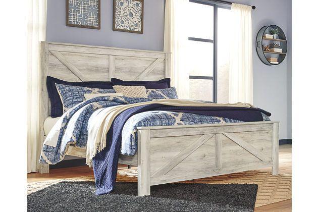 Bellaby Queen Crossbuck Panel Bed Panel Bed Ashley Bedroom Furniture Sets Bedroom Sets Queen