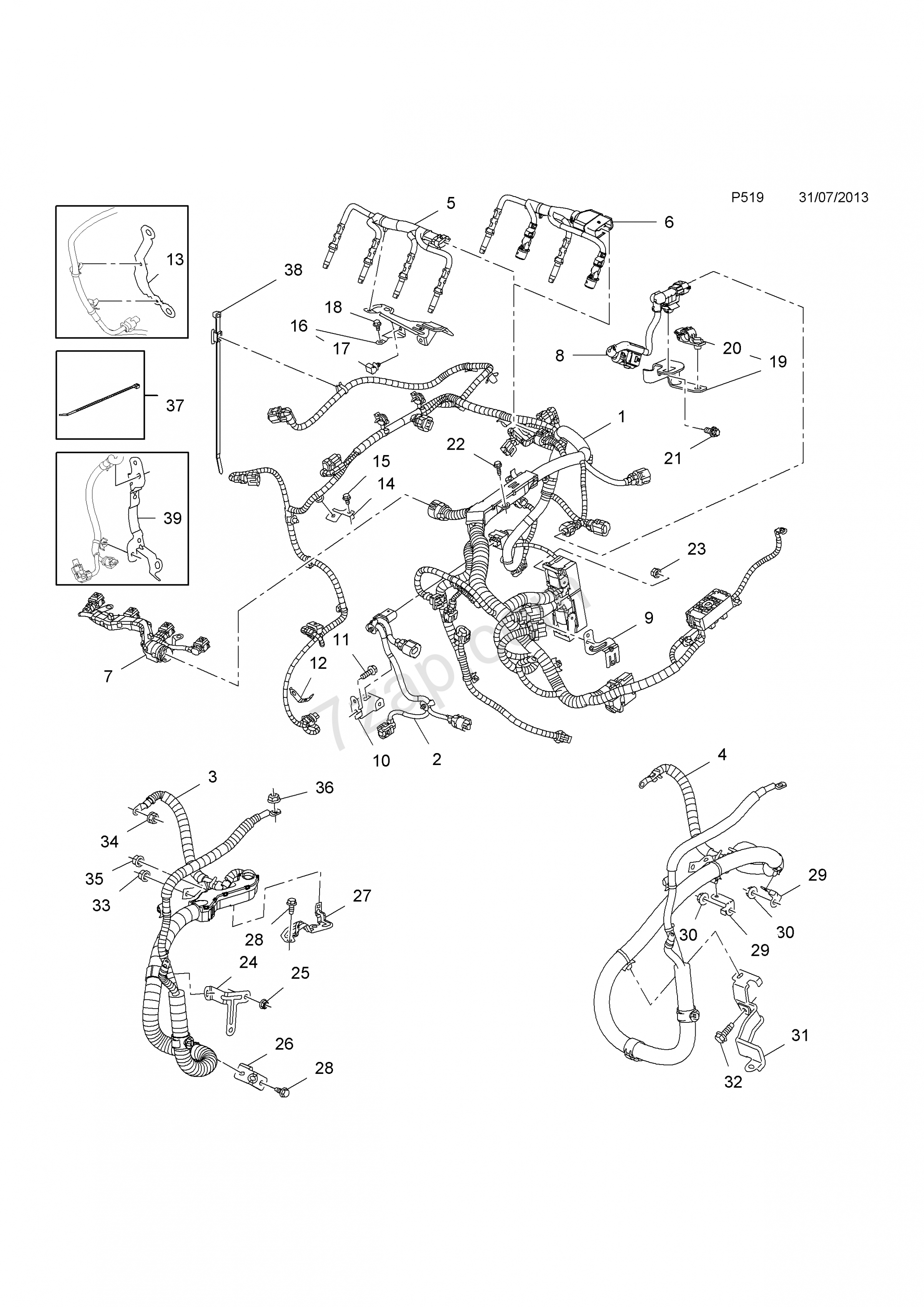 Vauxhall Astra Engine Wiring Diagram Di