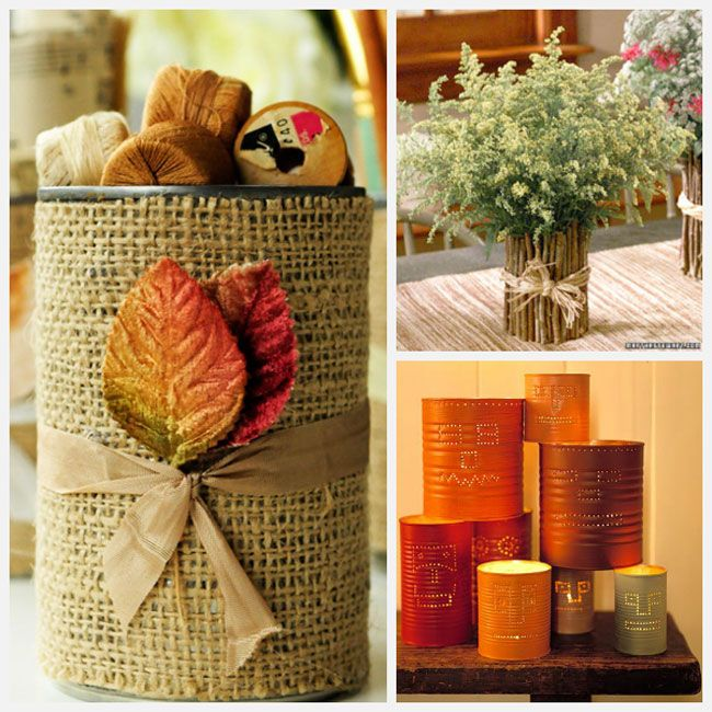 Decorating A Bedroom With Burlap | Tin Can Crafts – 22 Fun Ideas ...