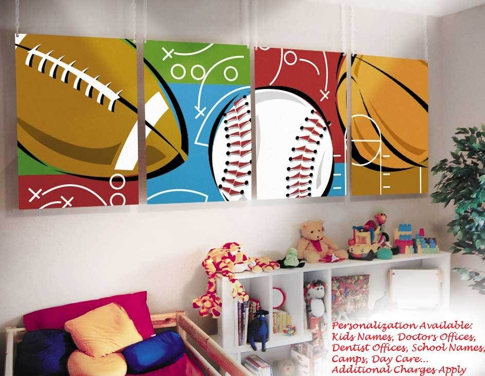 Sports Paintings For Kids Click To Enlarge In 2019