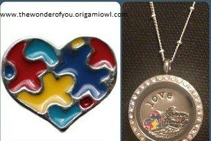 April is Autism Awareness Month! Visit our website www.thewonderofyou.origamiowl.com to create yours today!! Find us on Facebook!