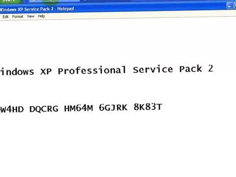 windows xp professional 32 bit product key