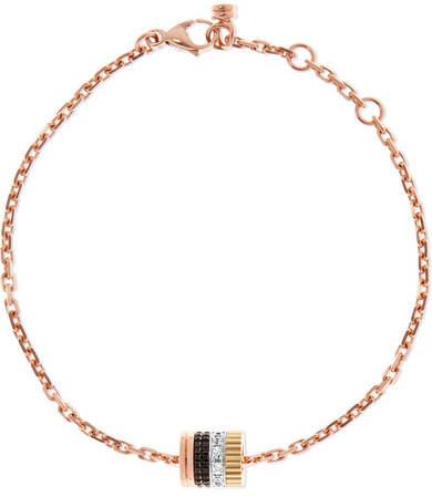 Boucheron Quatre Classique 18-karat Gold Diamond Necklace - Rose gold 2E0g4Ypm