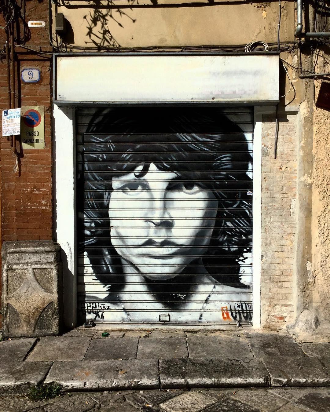 Street art in palermo instaart jimmorrison ilikeit dancing