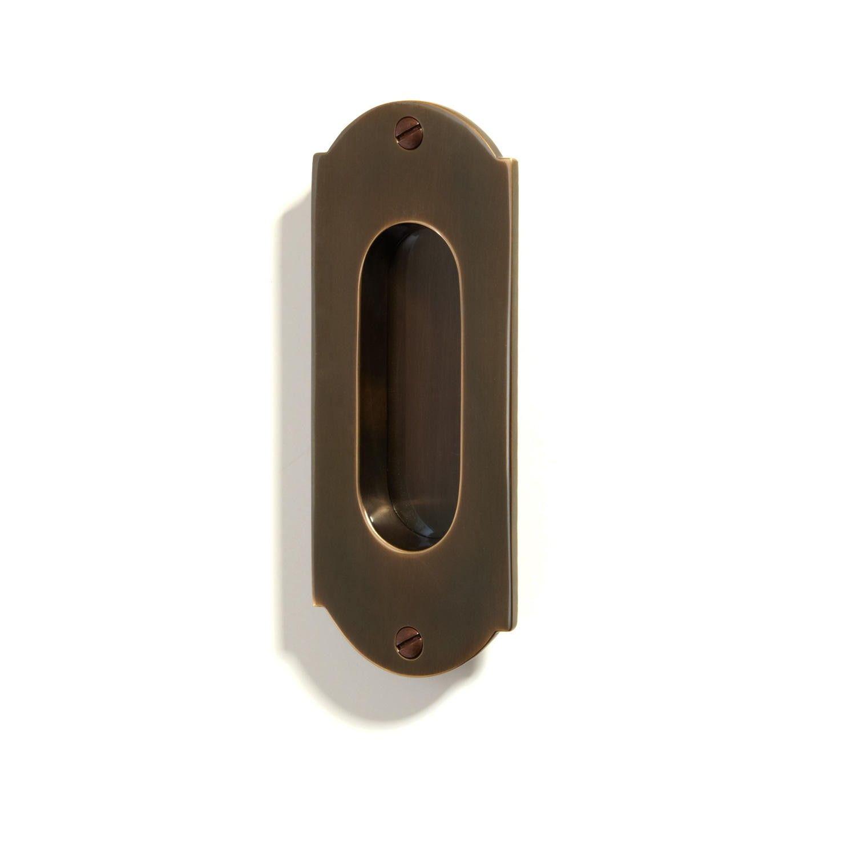 old world pocket door pull