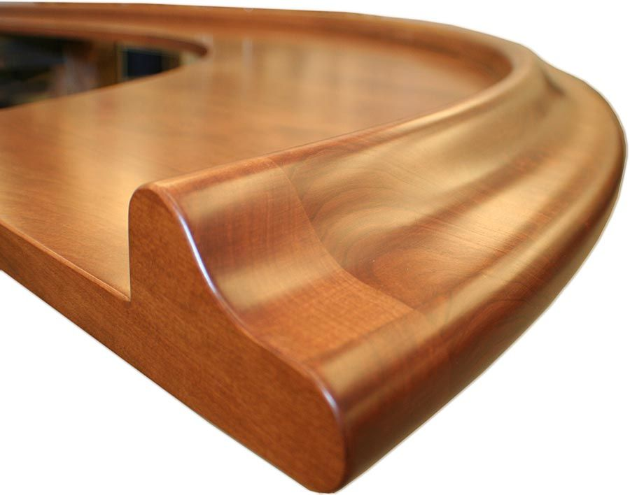 Wood Chicago Bar Rail, Designing Molding And Trim For Wood Bar Tops
