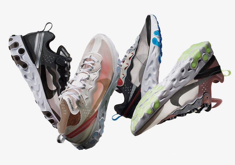 szczegóły stabilna jakość delikatne kolory Nike Unveils React Element 87. Cop or Drop? | NIKE ID ...