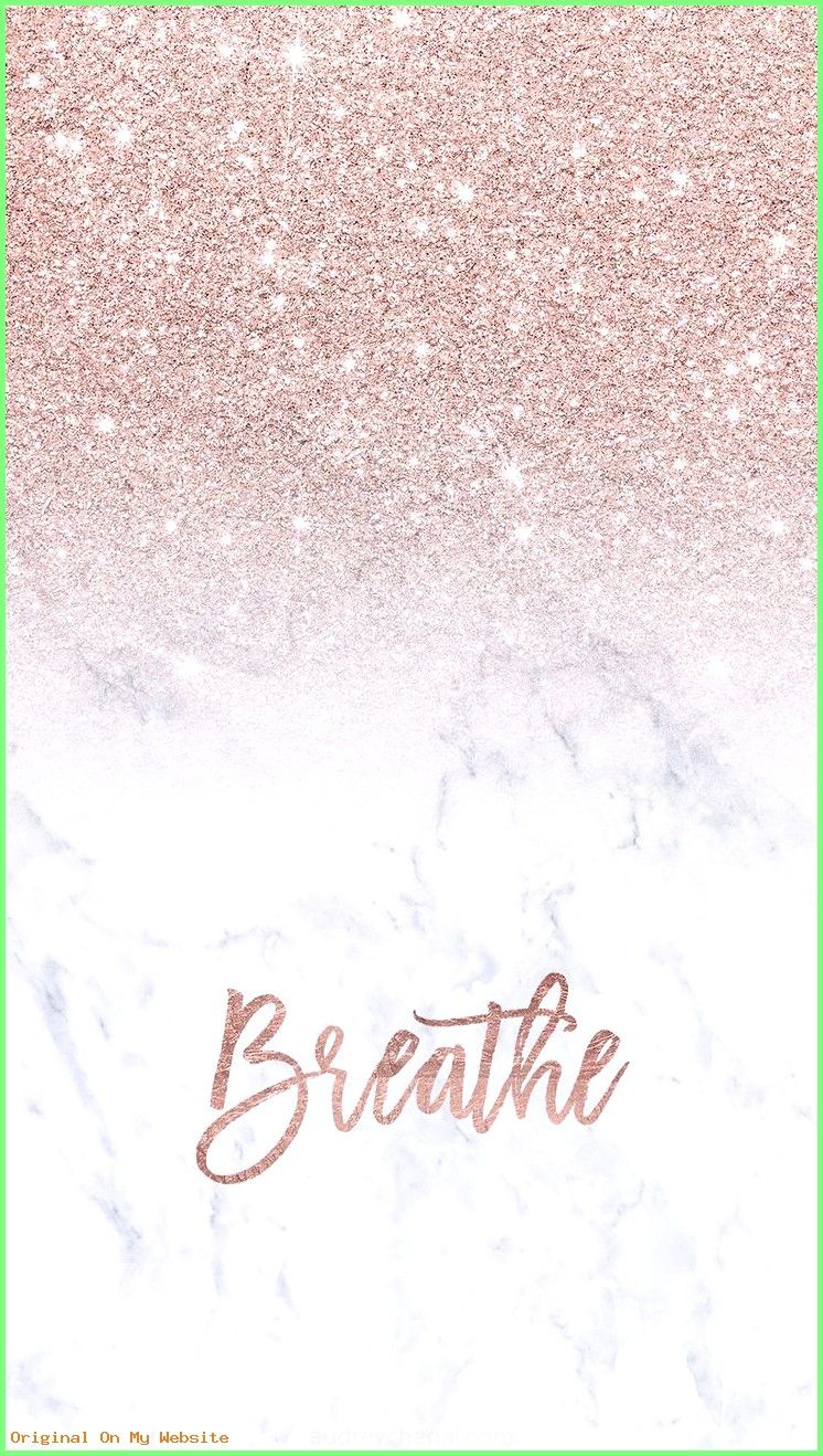 Wallpaper Backgrounds Aesthetic - Rose gold glitter ombre white marble breathe typography Iphone #wallpaper backgr...  #rosegoldWallpaperBackgrounds #wallpaperbackgroundsaestheticblue #wallpaperbackgroundsaestheticpurple #wallpaperbackgroundsaestheticquotes #wallpaperbackgroundsaesthetictumblr
