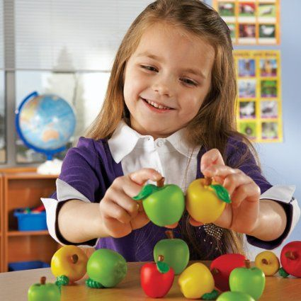 Amazon.com: Learning Resources Attribute Apples: Office Products