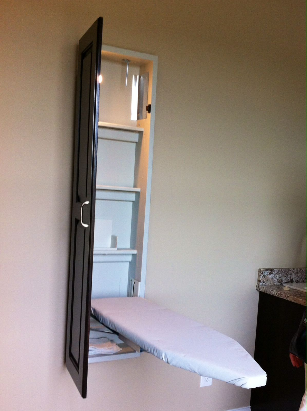 Fold Out Ironing Board Laundry Rooms Pinterest
