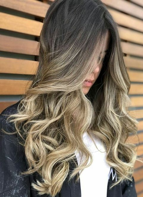 Stunning Color Ideas for Hairstyles 2018 Blonde Balayage