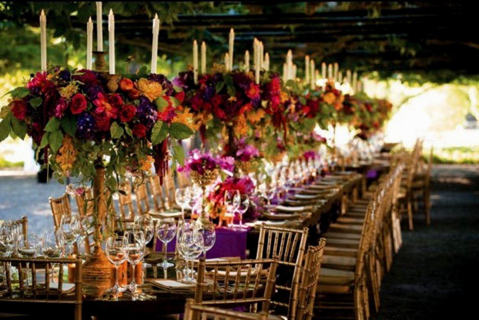 Fall Table Centerpiece Wedding Ideas: Autumn Wedding Table Decorations Uk