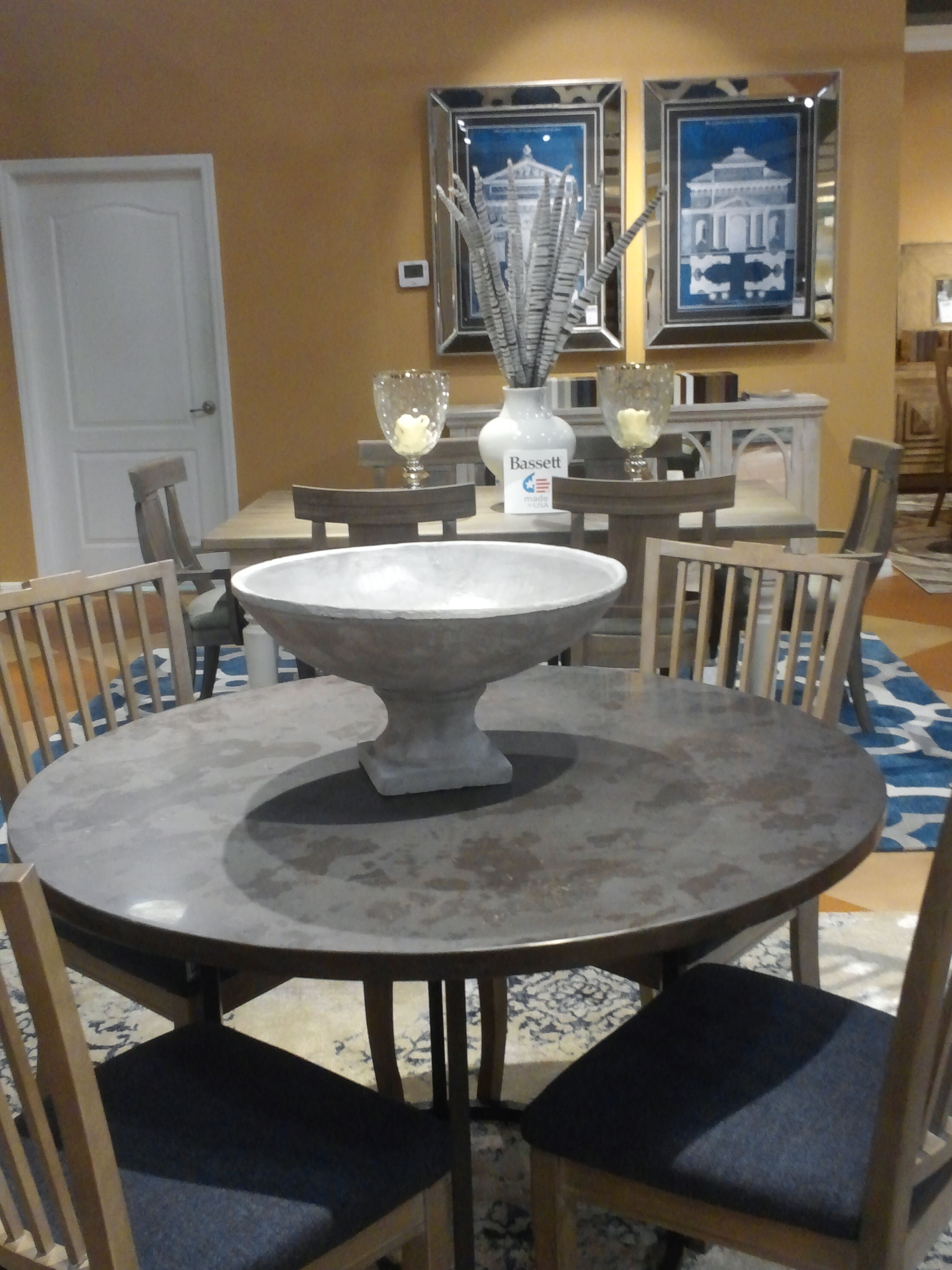 Blue stone table bassett custom gallery bassett custom bench blue stone table bassett custom gallery dzzzfo