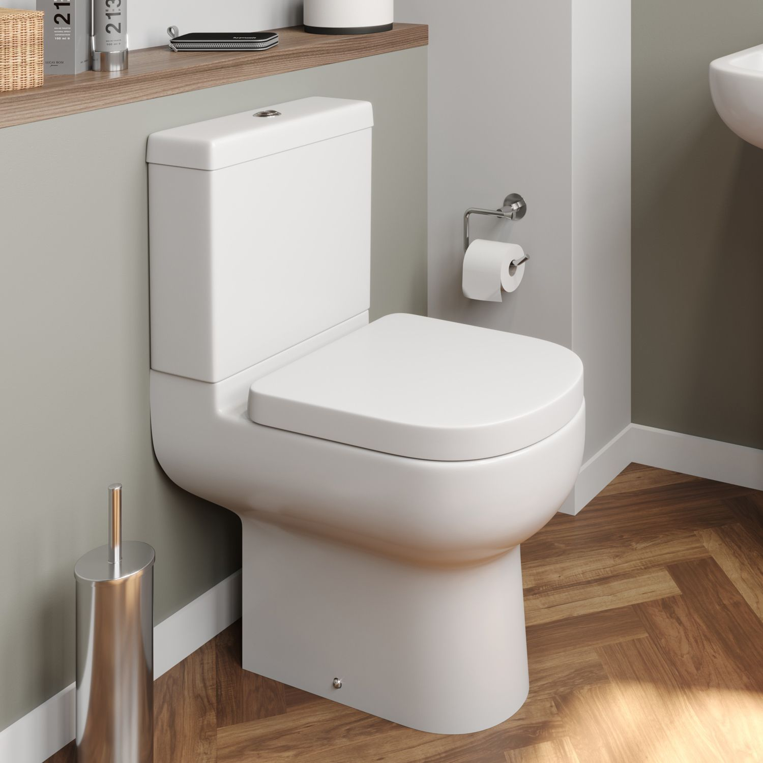 Affine Oceane Space Saving Toilet Space Saving Toilet Small Bathroom Suites Ideal Bathrooms