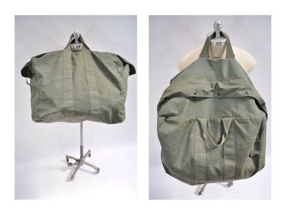 vintage bag aviator kit bag duffle bag duffel bag canvas flight bag LARGE  vintage duffle bag duffel bag 4375bcdb8e7b5