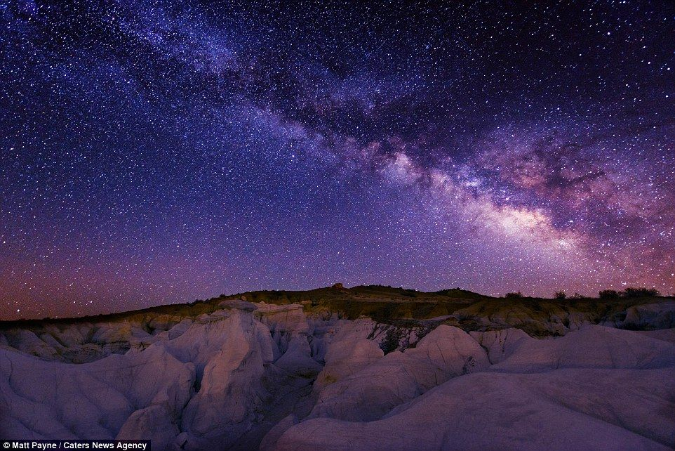 Rainbows In The Stars Stunning Shots Of The Night Sky Over America