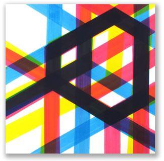 Sin título, 1999. Acrílico sobre tela. 200x200 cm.  Jose Piñar
