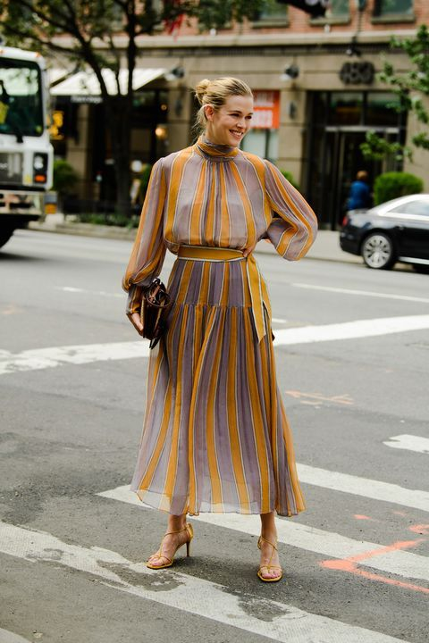 The Best Street Style From New York Fashion Week #bohostreetstyle
