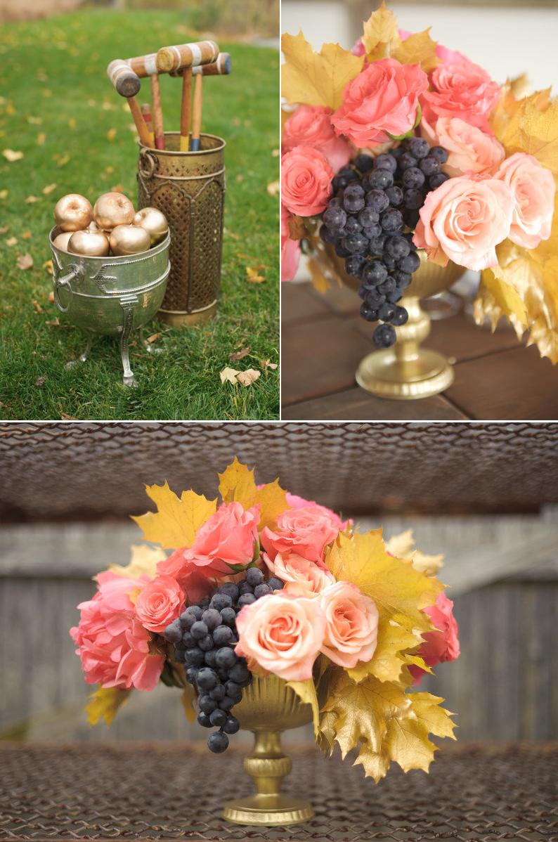 Unique Wedding Centerpieces Using Fruit Weddibg Decor Pinterest