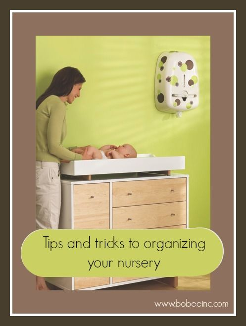Tips and tricks to organizing your nursery. If you are expecting and planning your baby room, take a look at these tips from a certified professional planner. Leave your best nursery organizational tips below. http://bobeeinc.com/blog/planning-for-baby-nursery-organization/