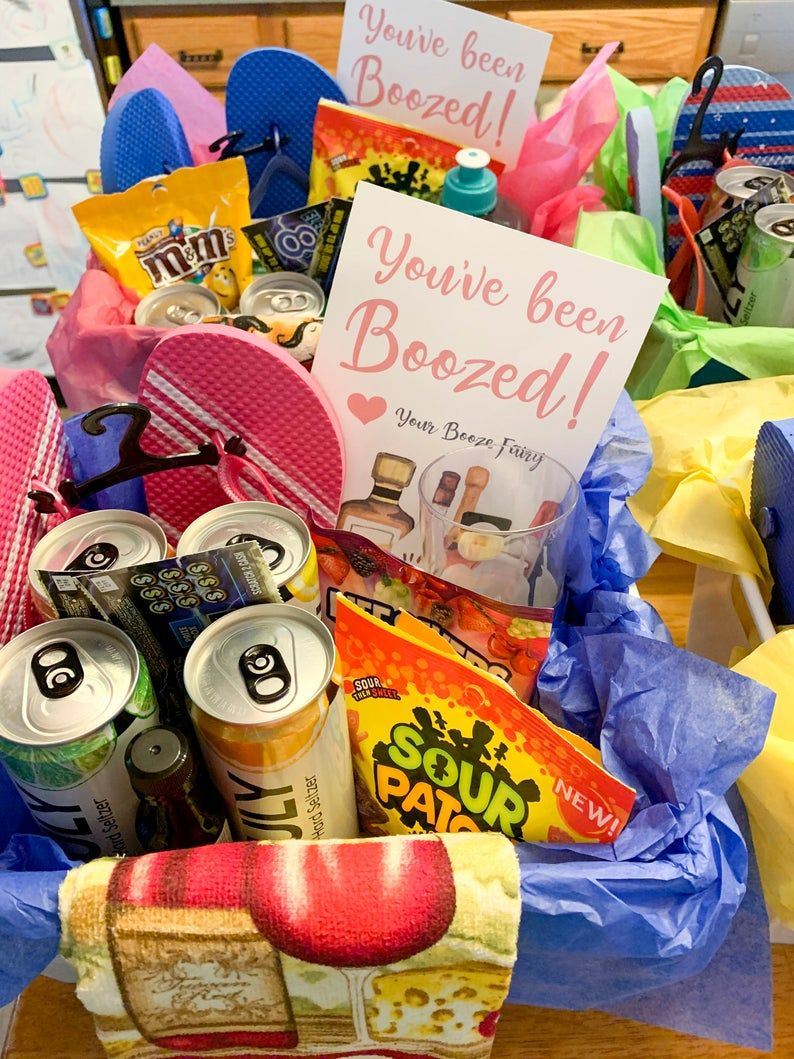 Halloween gift baskets with alcohol