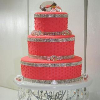 Bling Cake Toppers And Bands For At Dazzlemeelegant Heck Yeamy Birthday Will Blind People This Upcoming Year