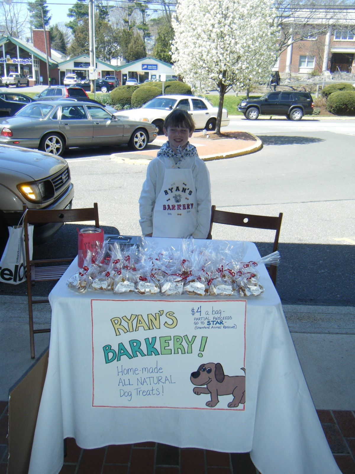 Ryan Of Ryan S Barkery Supports Starescue Ryan Makes Great
