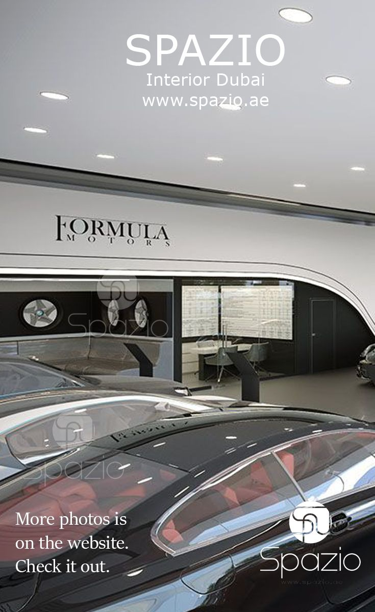 Car Showroom Interior Design Dubai Modern Store Interior Design