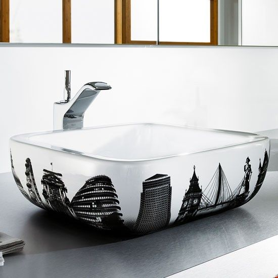 The Roca Urban London Countertop Basin Will Make A Stunning Statement In  Any Bathroom. Please Note This Basin Does Not Have Any Tap Holes. Part 77