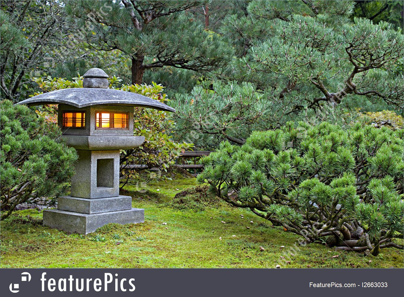 Stone Zen Garden Nature landscapes stone lantern at portland japanese garden lit at nature landscapes stone lantern at portland japanese garden lit at dawn workwithnaturefo