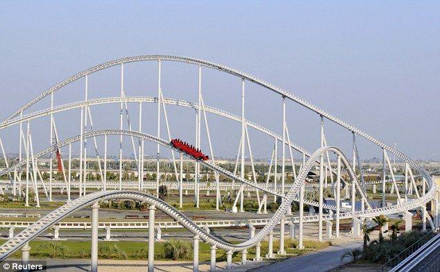 Oh My God This Ride Is A Beast Formula Rossa Ferrari World Abu Dhabi United Arab Emirates Ferrari World Roller Coaster Ferrari World Abu Dhabi
