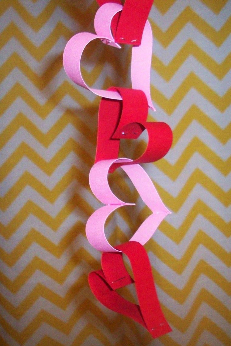 Decoracion san valentin ideas que enamoran guirnaldas for Decoracion san valentin pinterest