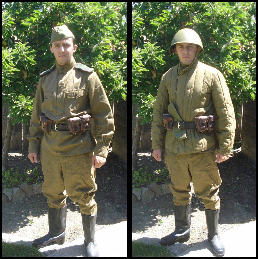 Russian Soldier Ww2 Uniform - Google Search