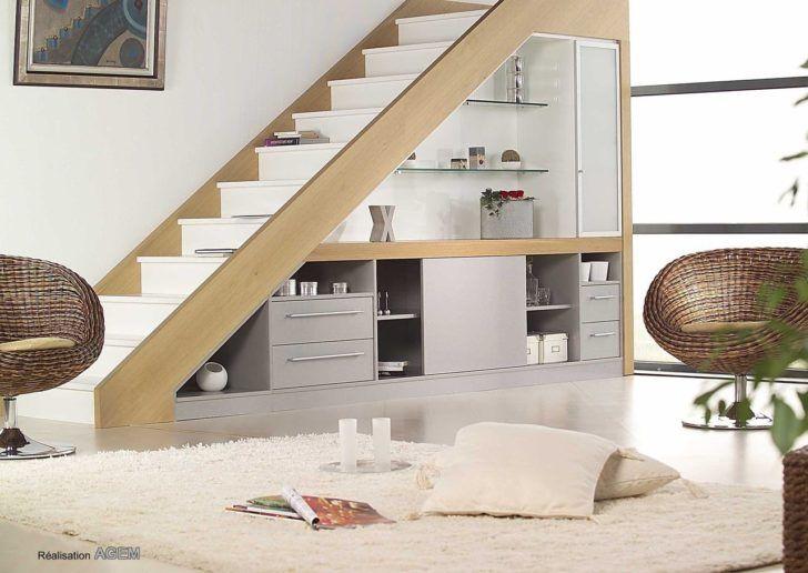 Meuble De Salon Rangement Escalier Decoration Sous Escalier Salon