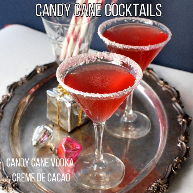 <3 Candy Cane Cocktails <3