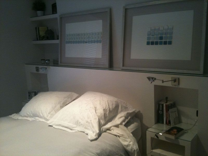Ganar espacio para armarios habitacion principal - Camas de obra ...