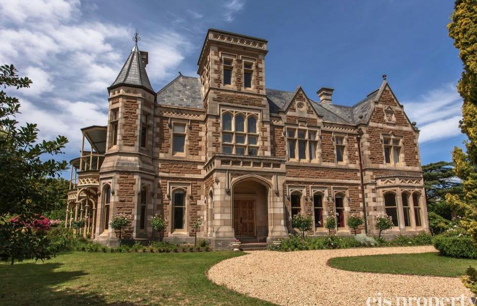 Historic Mansion In Tasmania Australia FLOOR PLANS