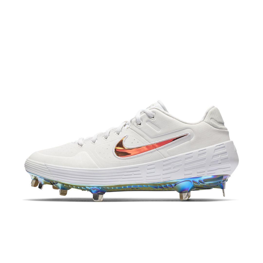 6e153fc977dde Nike Alpha Huarache Elite 2 Low Baseball Cleat Size 8.5 (White ...