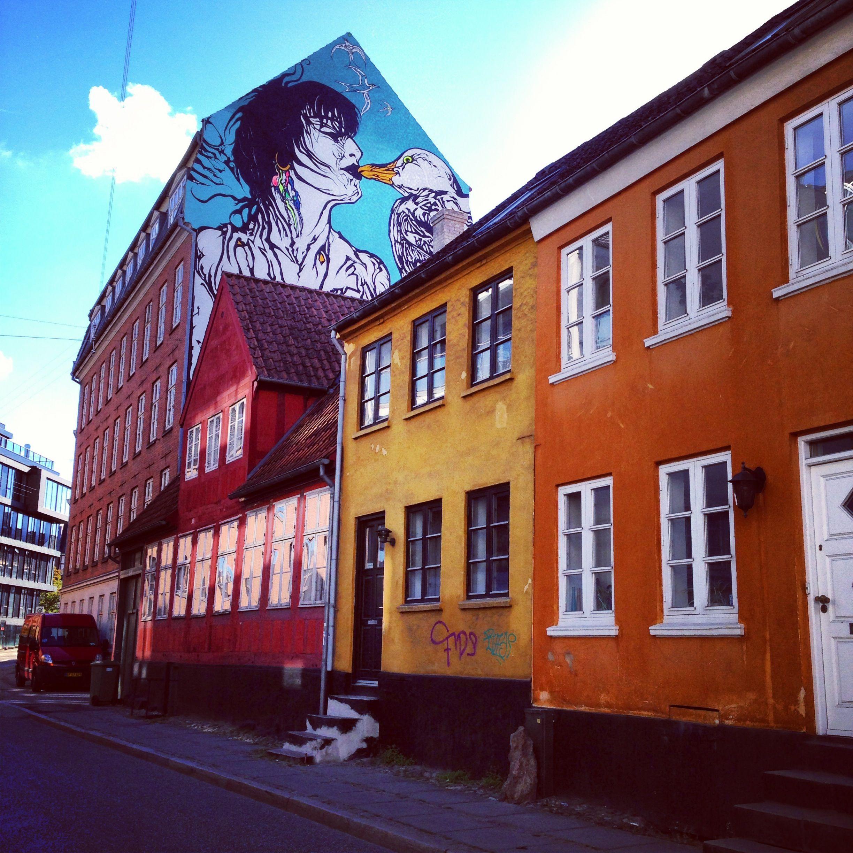 Magekysset Arhus Denmark Danmark Rejser Billeder