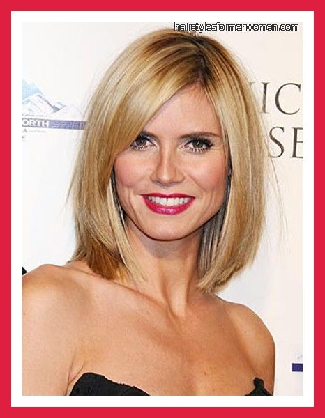 Hairstyles For Fine Straight Hair Over 50 Hairstyles For Fine Thin Hair Over 50 Thick Hair Styles Hair Styles Heidi Klum Hair