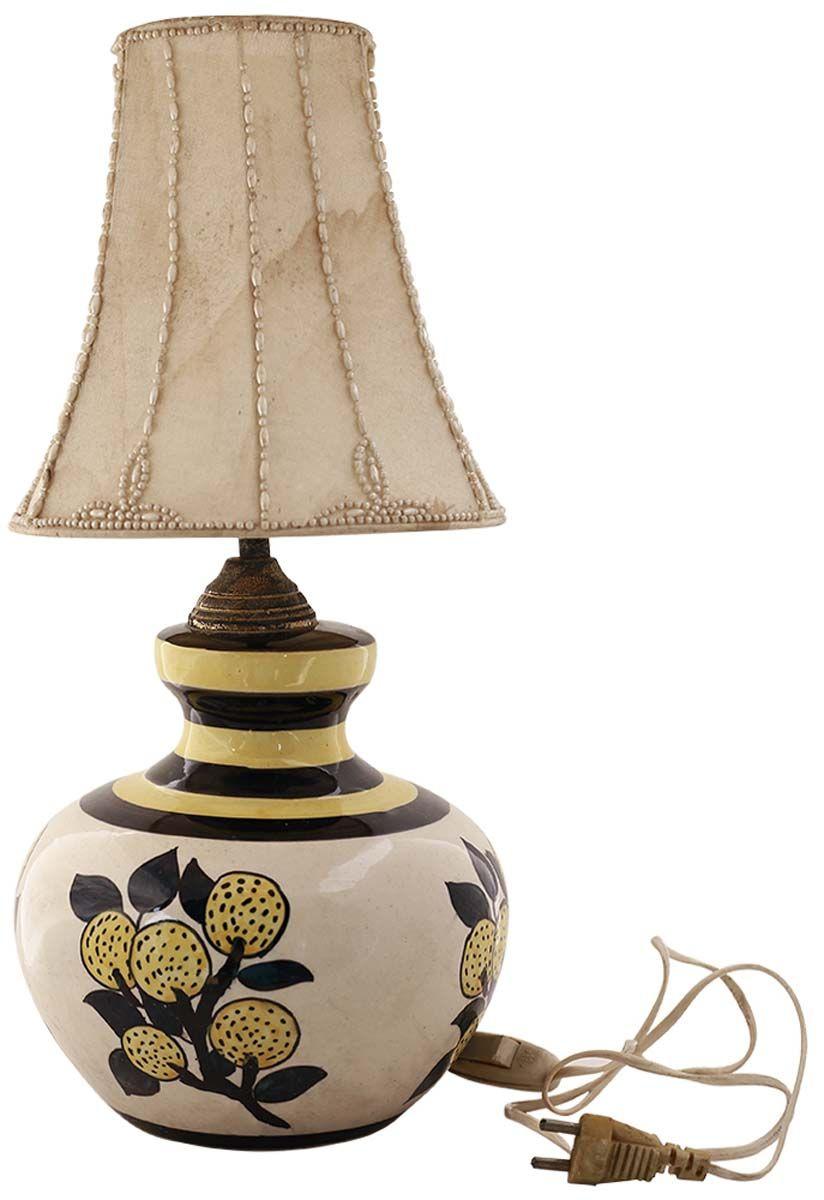 Bulk wholesale oriental ceramic table lamp with shade hand bulk wholesale oriental ceramic table lamp with shade hand painted yellow black geotapseo Images