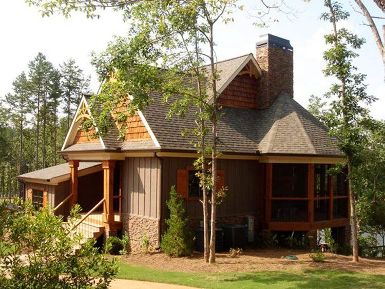 4 Bedroom Rustic House Plan With Porches Stone Ridge Cottage Rustic House Plans Cottage Style House Plans Porch House Plans