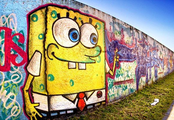 Spongebob Graffiti Art