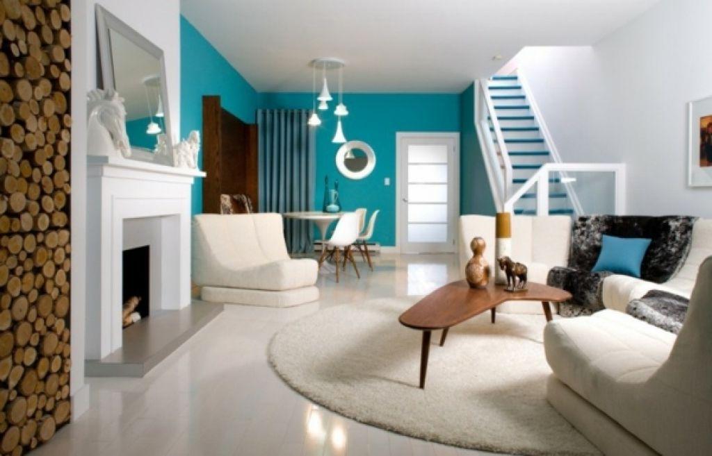 moderne kleine wohnzimmer kleine wohnzimmer designs tisch blau ...