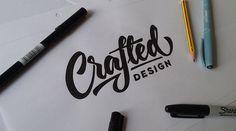 Lettering Logo Designs - Before & After on Behance