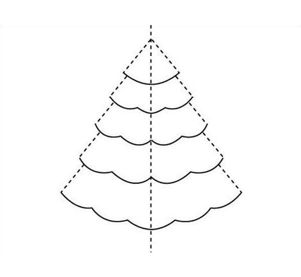 Tarjeta de Navidad hecha a mano Cmo hacer Tarjetas y Navidad