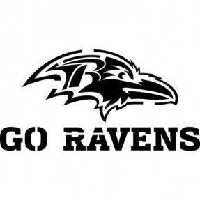 Ravens Stencil Raven Logo Baltimore Ravens Logo Pumpkin Stencil