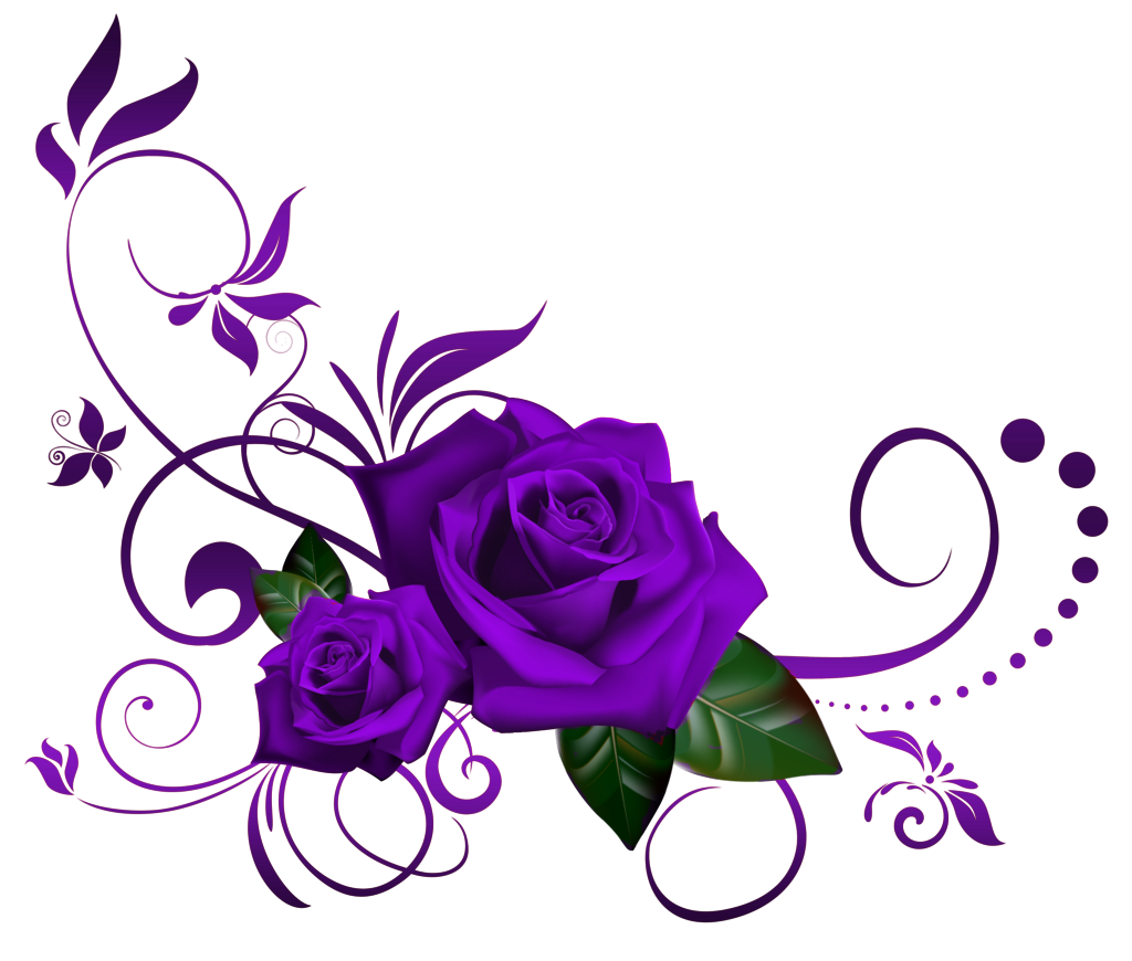 Pin By Lisa Stinson On Clipart Purple Rose Tattoos Realistic Flower Tattoo Watercolor Tattoo Flower
